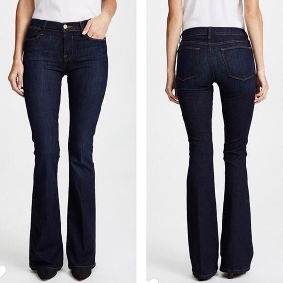 Frame Denim Denim - FRAME Le High Flare Denim Jeans